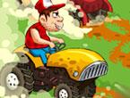 Çiftlikte Traktör Yarışı Oyunu
