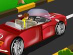 Kırmızı Arabanın Maceraları Oyunu