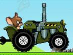 Tom ve Jerry Traktör Sürücüsü Oyunu